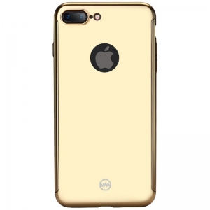 Husa Joyroom 360 + folie sticla iPhone 7 Plus, Gold1