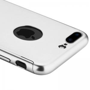 Husa Joyroom 360 + folie sticla iPhone 7 Plus, Silver [1]