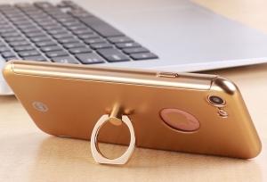Husa Joyroom 360 Ring + folie sticla iPhone 6 / 6S, Gold2