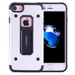 Husa Motomo Armor Hybrid iPhone 7, Silver