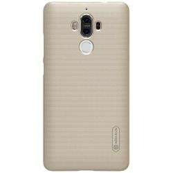 Husa Nillkin Frosted + folie protectie Huawei Mate 9, Gold1