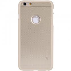 Husa Nillkin Frosted + folie protectie iPhone 6 / 6S, Gold0