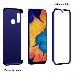 Husa Samsung Galaxy A40 Full Cover 360, Albastru [1]