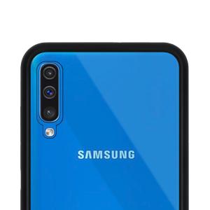 Husa Samsung Galaxy A50 Magnetic Glass 360 (sticla fata + spate), Negru3
