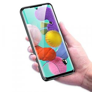 Husa Samsung Galaxy A51 Magnetic Glass 360 (sticla fata + spate), Negru2