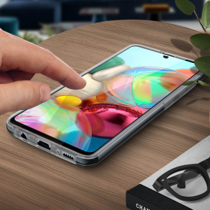 Husa Samsung Galaxy A71 Full TPU 360 (fata + spate), Transparent 3