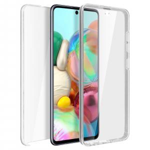 Husa Samsung Galaxy A71 Full TPU 360 (fata + spate), Transparent 0
