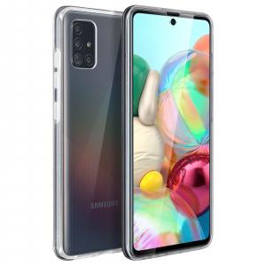 Husa Samsung Galaxy A71 Full TPU 360 (fata + spate), Transparent 1