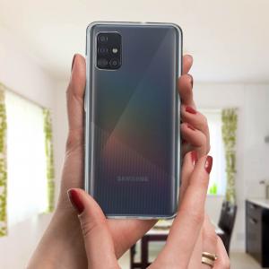 Husa Samsung Galaxy A71 Full TPU 360 (fata + spate), Transparent 2