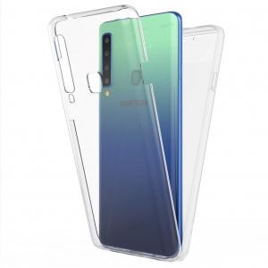 Husa Samsung Galaxy A9 (2018) Full TPU 360 (fata + spate), Transparent [0]