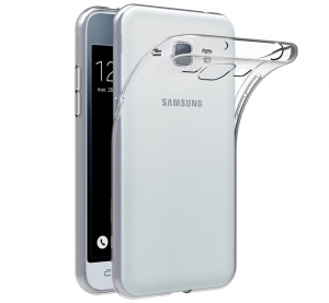 Husa Samsung Galaxy J1 (2016) TPU Slim, Transparent0