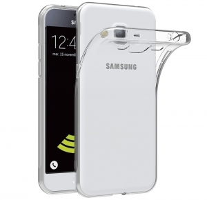 Husa Samsung Galaxy J3 (2016) TPU Slim, Transparent0