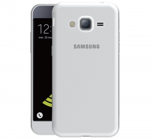 Husa Samsung Galaxy J3 (2016) TPU Slim, Transparent1