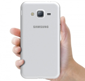 Husa Samsung Galaxy J3 (2016) TPU Slim, Transparent3