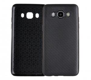 Husa Samsung Galaxy J5 (2016) i-Zore Carbon, Negru1