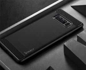 Husa Samsung Galaxy Note 8 iPaky Fiber, Negru2