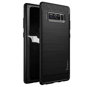 Husa Samsung Galaxy Note 8 iPaky Fiber, Negru0