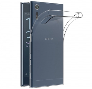 Husa Sony Xperia XZ TPU Slim, Transparent0