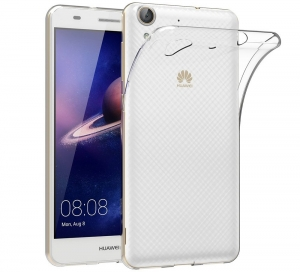 Husa TPU Slim Huawei Y6II, Transparent0