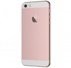Husa TPU Slim iPhone 5 / 5S / SE, Transparent2