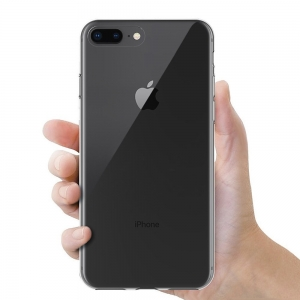 Husa TPU Slim iPhone 8 Plus, Transparent3