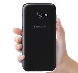 Husa TPU Slim Samsung Galaxy A3 (2017), Transparent2