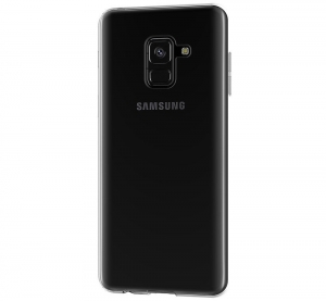 Husa TPU Slim Samsung Galaxy A8 (2018), Transparent2