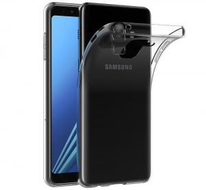 Husa TPU Slim Samsung Galaxy A8 (2018), Transparent0