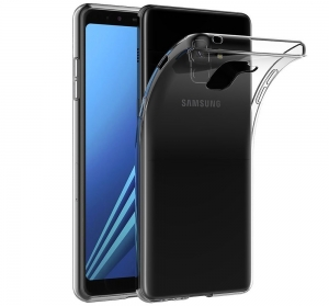 Husa TPU Slim Samsung Galaxy A8 Plus (2018), Transparent0