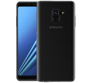 Husa TPU Slim Samsung Galaxy A8 Plus (2018), Transparent1