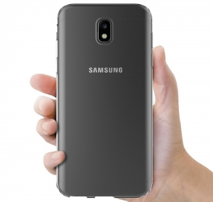 Husa TPU Slim Samsung Galaxy J3 (2017), Transparent3