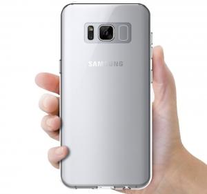 Husa TPU Slim Samsung Galaxy S8, Transparent2