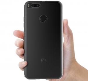 Husa TPU Slim Xiaomi Mi A1, Transparent [3]