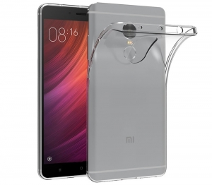 Husa TPU Slim Xiaomi Redmi Note 4, Transparent0