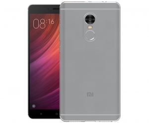 Husa TPU Slim Xiaomi Redmi Note 4, Transparent1