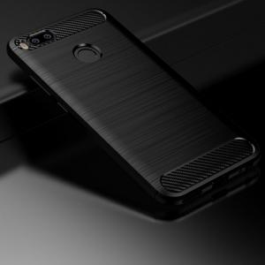 Husa Xiaomi Mi A1 iPaky Fiber, Negru [1]