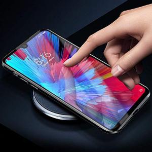 Husa Xiaomi Redmi Note 7 Magnetic Glass 360 (sticla fata + spate), Negru2