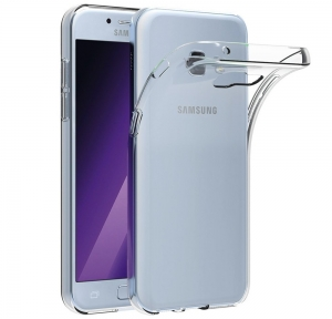 Husa Samsung Galaxy A7 (2017) TPU Slim, Transparent0