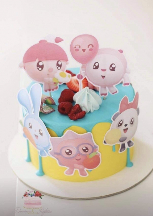 Toppere tort Baby Riki 0