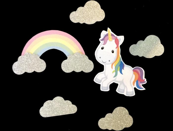 Suită toppere cu unicorn [0]