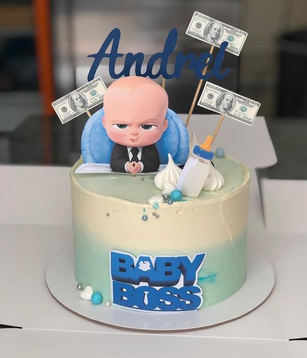 Toppere cu Baby Boss pentru tort 0