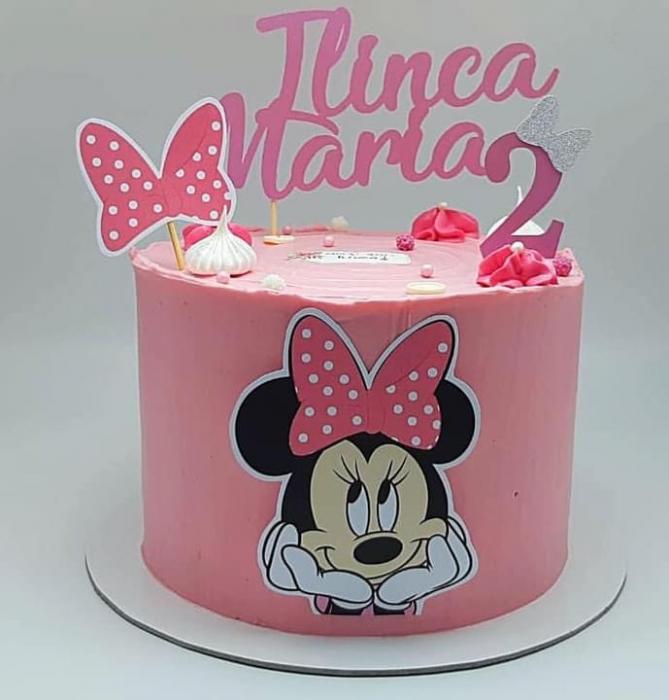 Toppere Minnie roz 0
