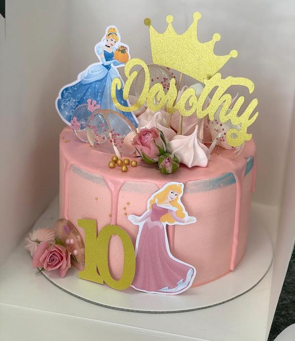 Ornamet tort sub formă de coroana de prințesă [0]