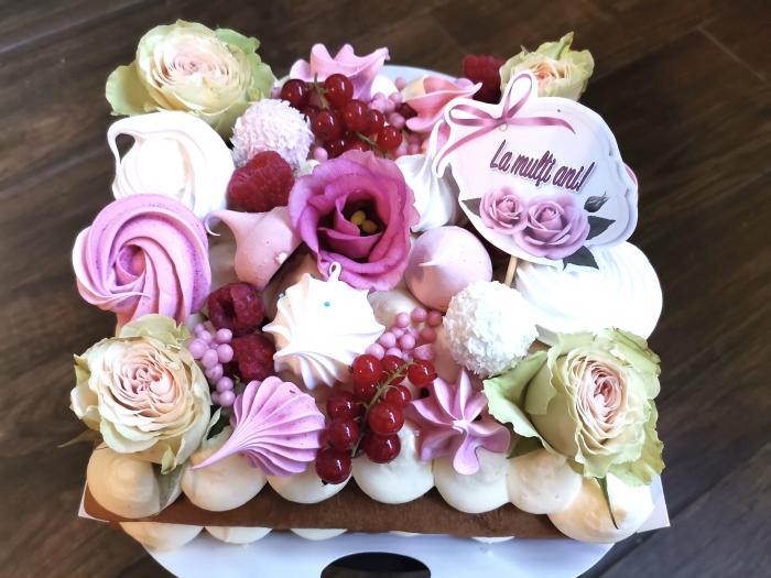 Topper La multi ani trandafir roz 0