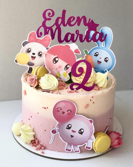 Toppere tort Baby Riki 2