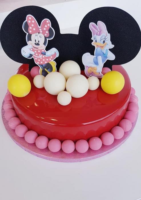 Suită toppere cu Minnie, Daisy și cap de Mickey 0