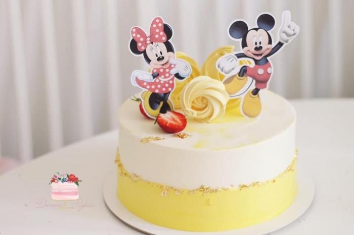 Suită toppere Minnie și Mickey 0
