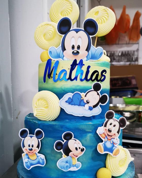 Suită de toppere tort cu baby Mickey [0]