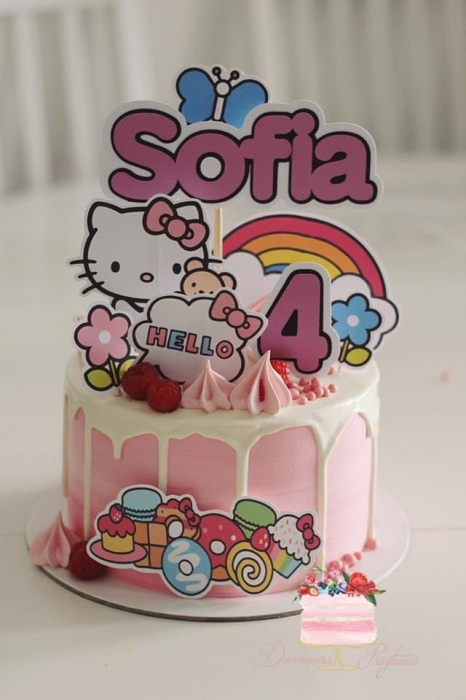 Toppere tort Hello Kitty 0