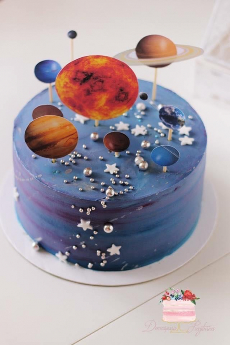 Suita toppere tort Galaxie 1